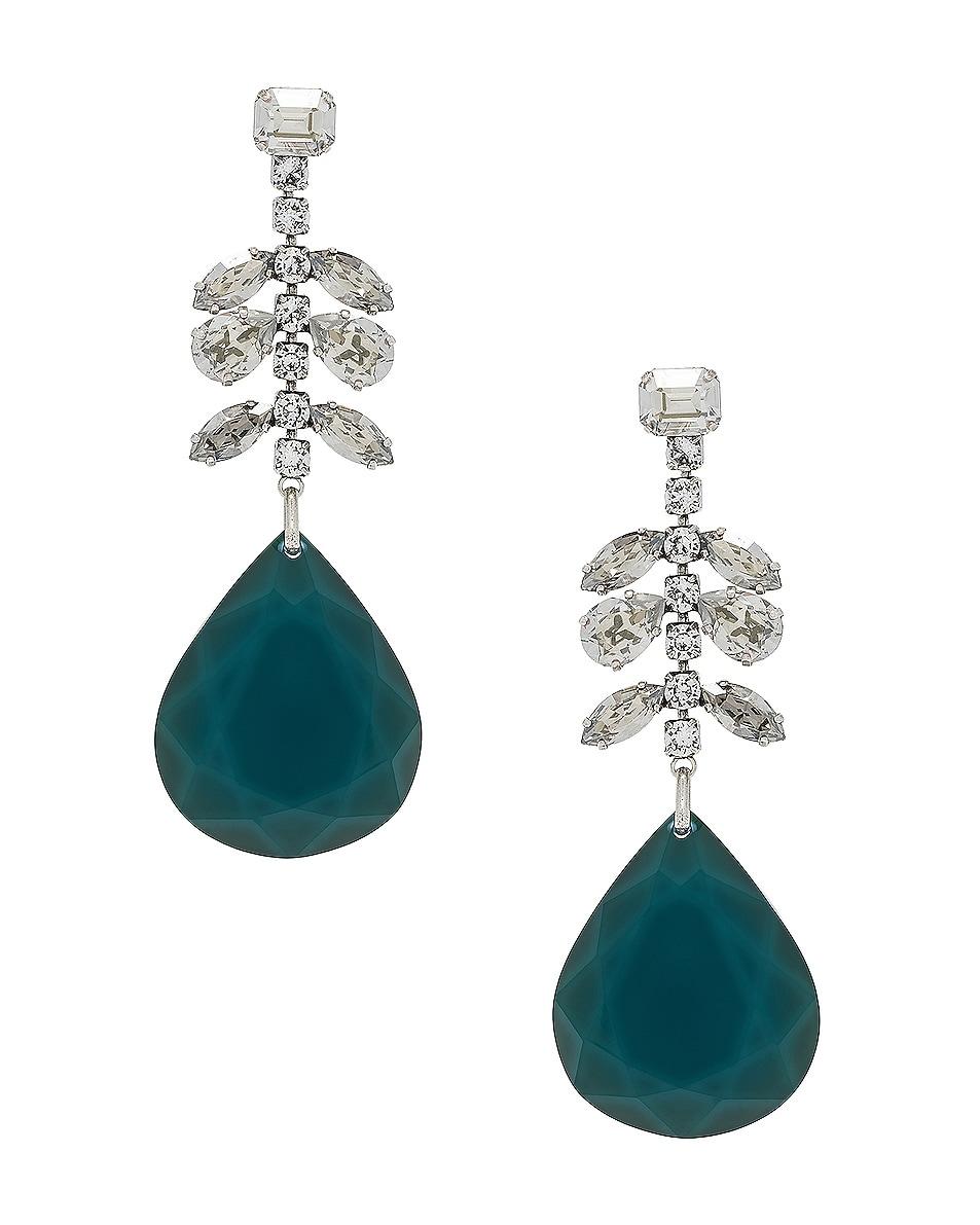 Image 1 of Isabel Marant Peace Pop Earrings in Celadon