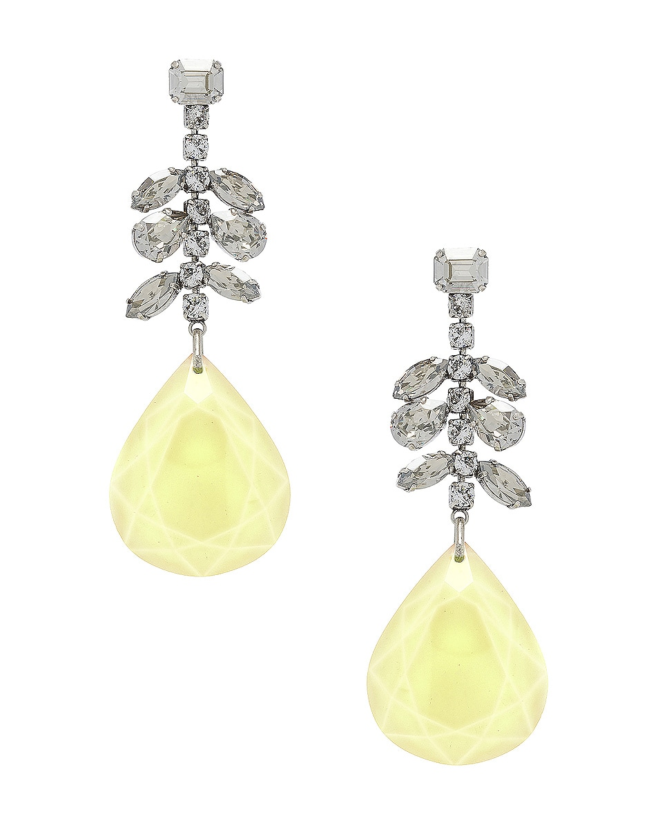 Image 1 of Isabel Marant Peace Pop Earrings in Yellow