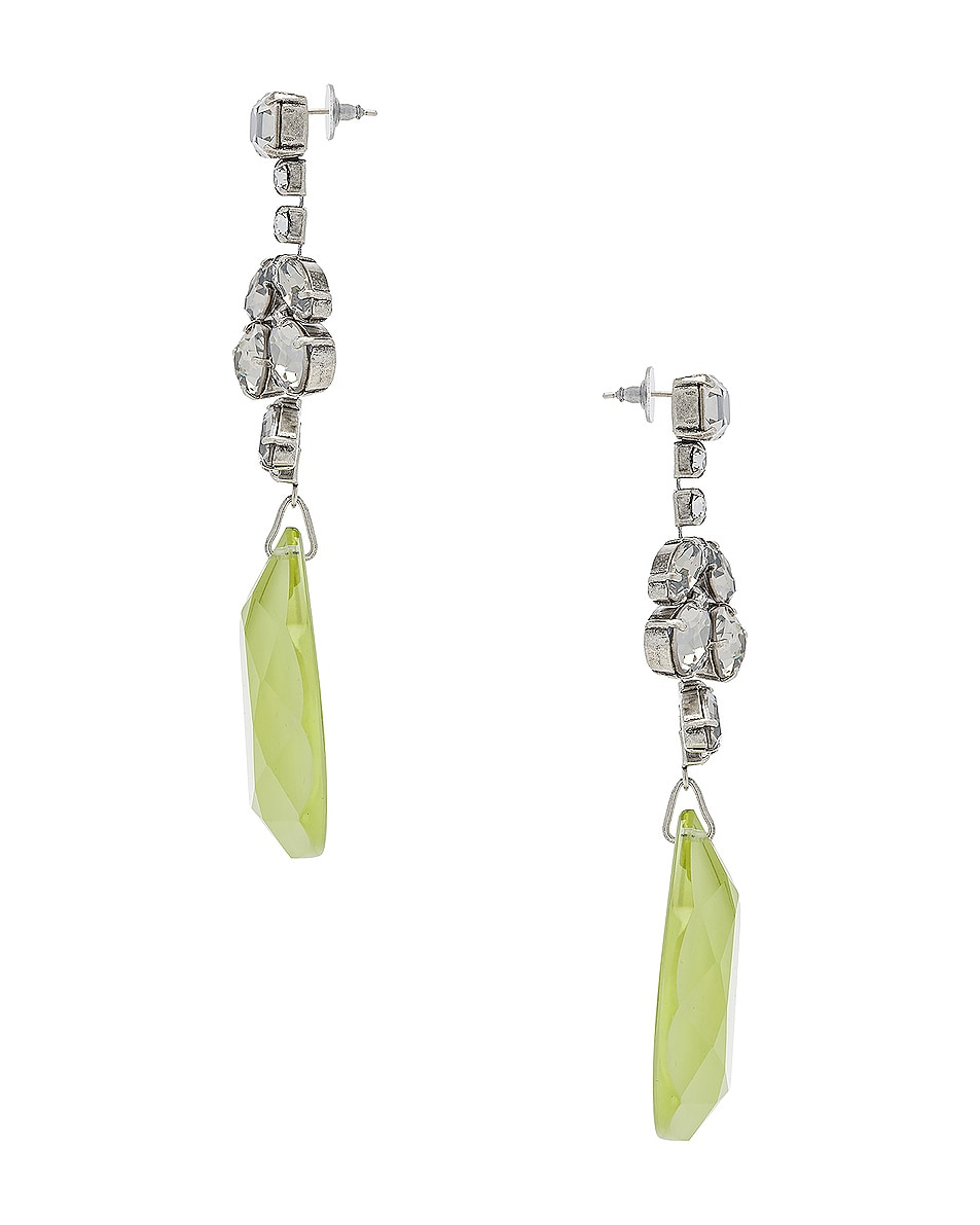 Image 3 of Isabel Marant Peace Pop Earrings in Yellow