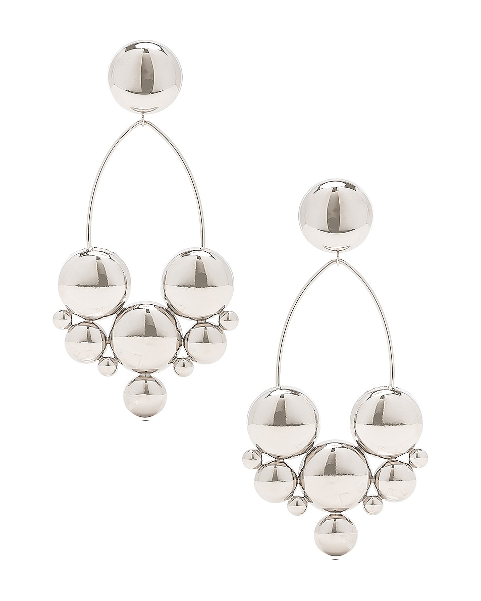 Image 1 of Isabel Marant Boo Earrings in Silver