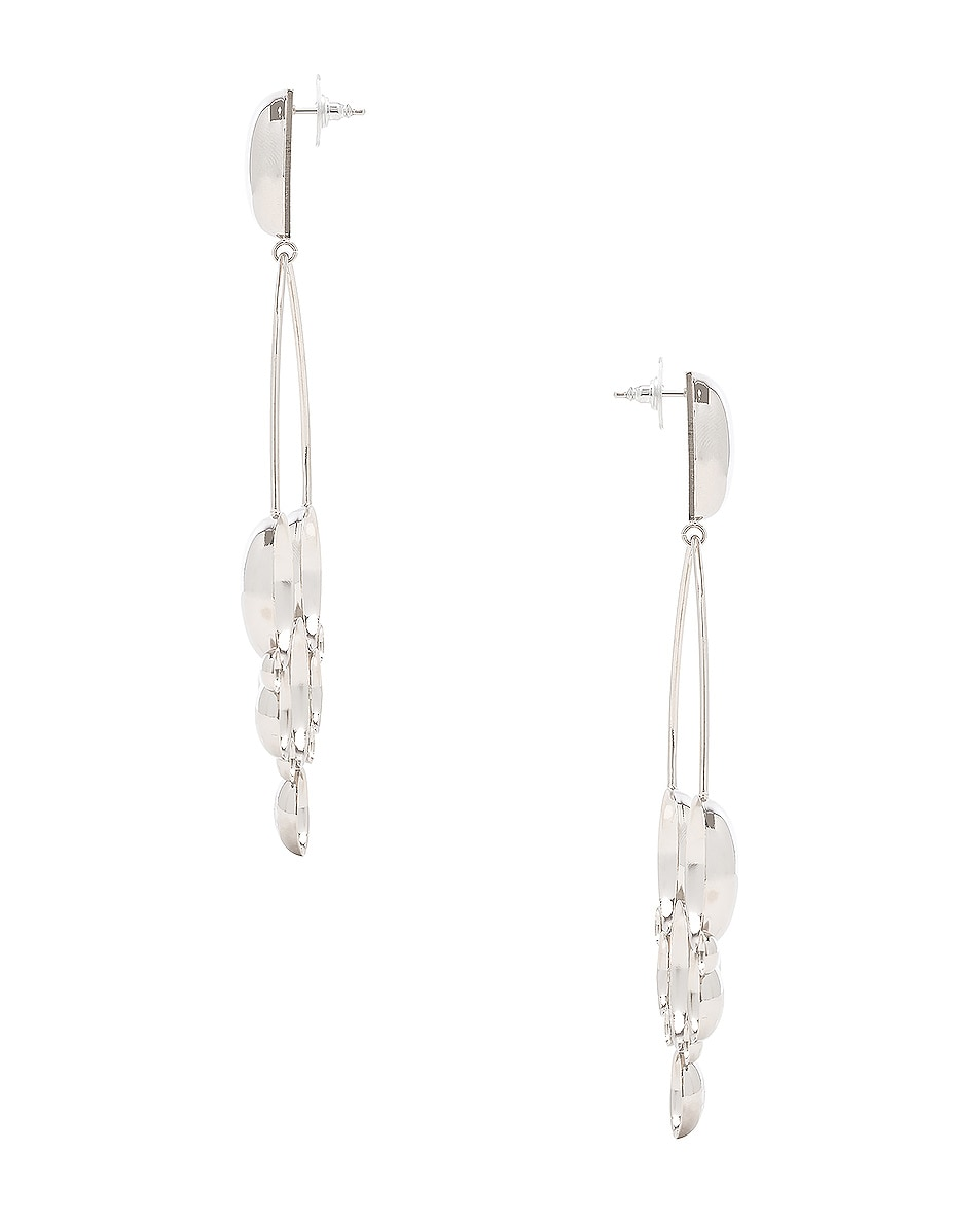 Image 3 of Isabel Marant Boo Earrings in Silver