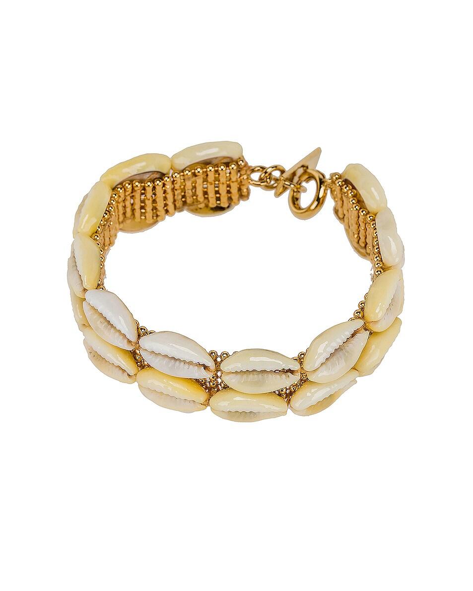 Image 1 of Isabel Marant Shell Bracelet in Dore
