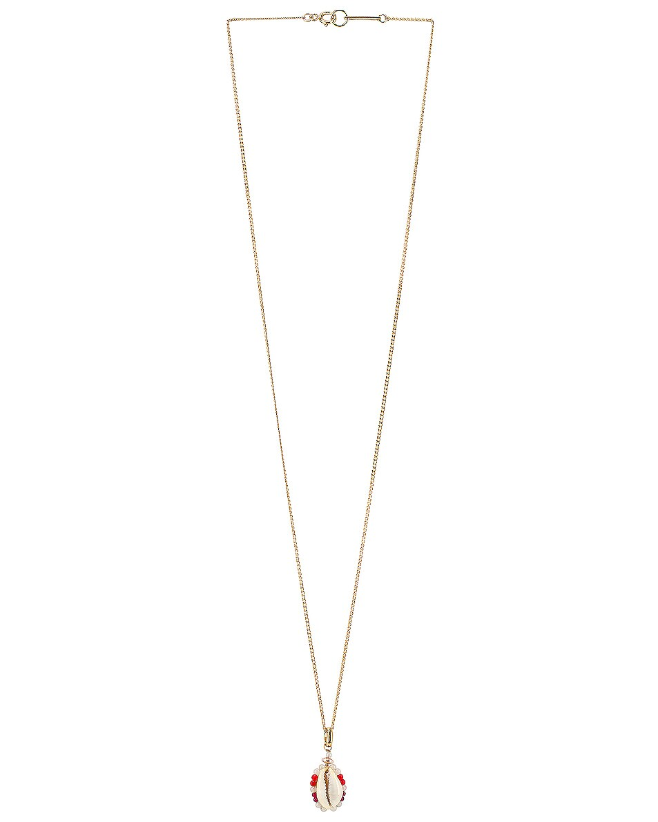 Image 1 of Isabel Marant Shell Necklace in Sky