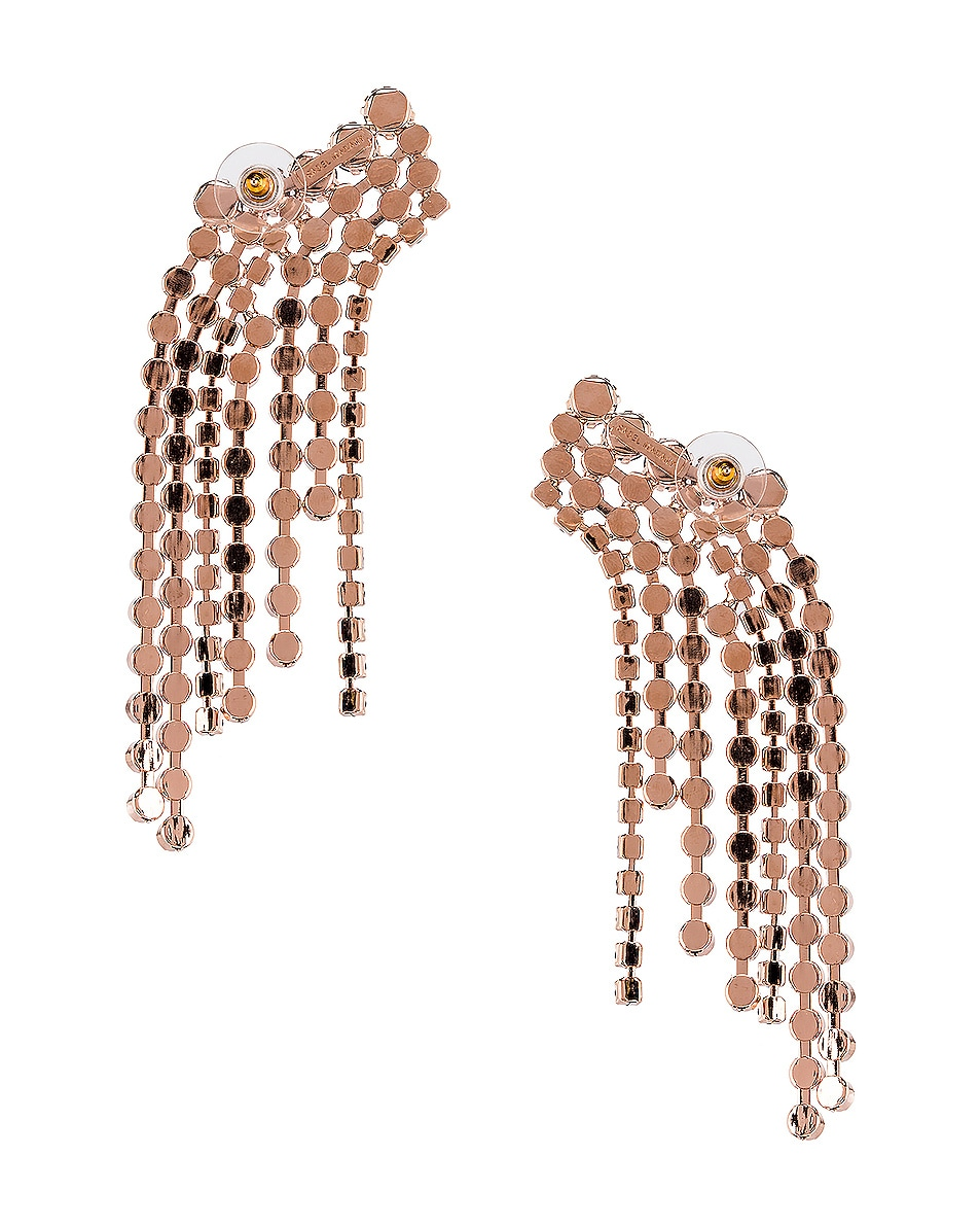 Image 4 of Isabel Marant Fringe Earrings in Black