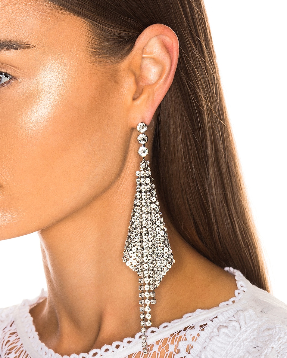 Image 2 of Isabel Marant Nile Single Earring in Transparent