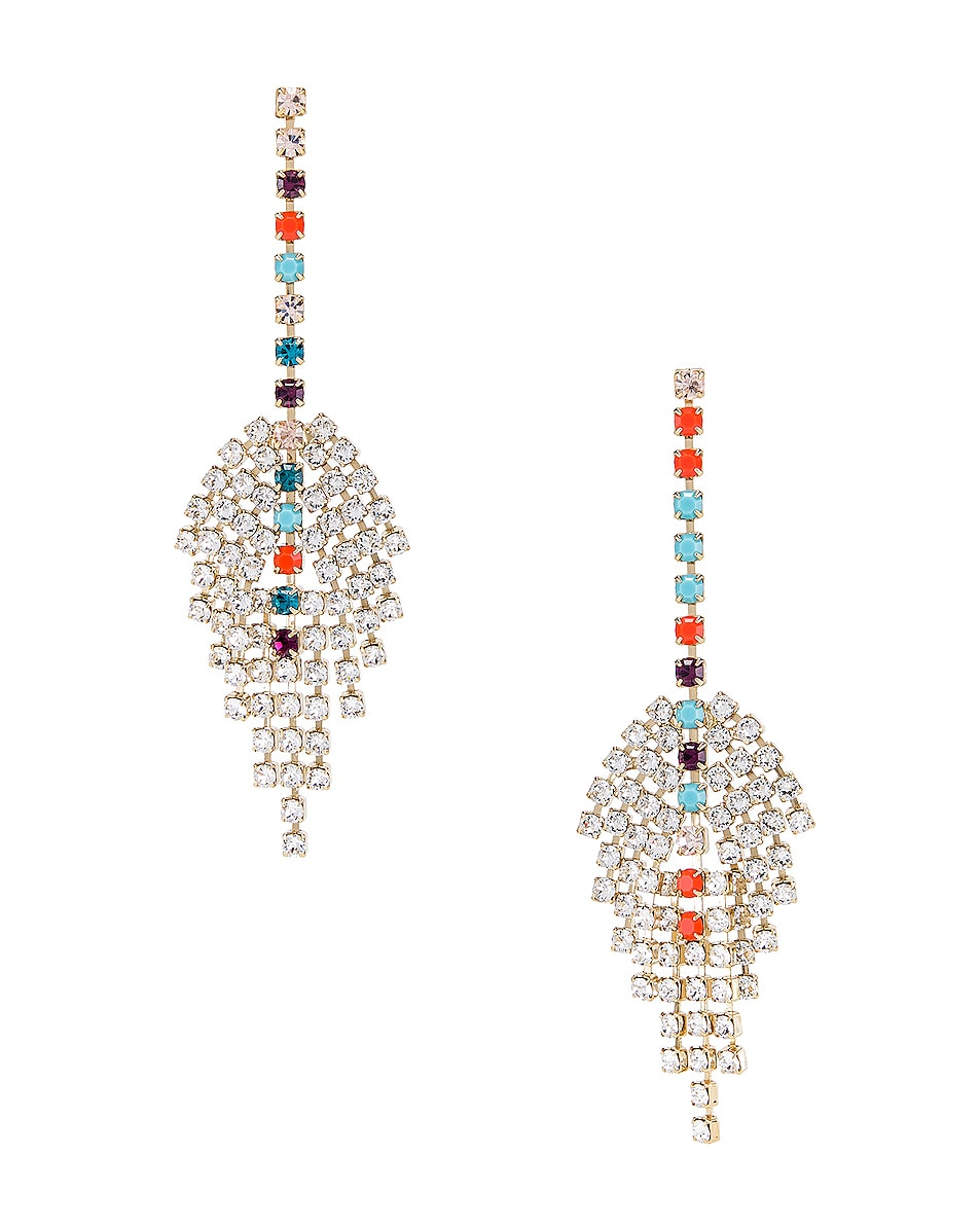 Image 1 of Isabel Marant Aless Earrings in Multicolor