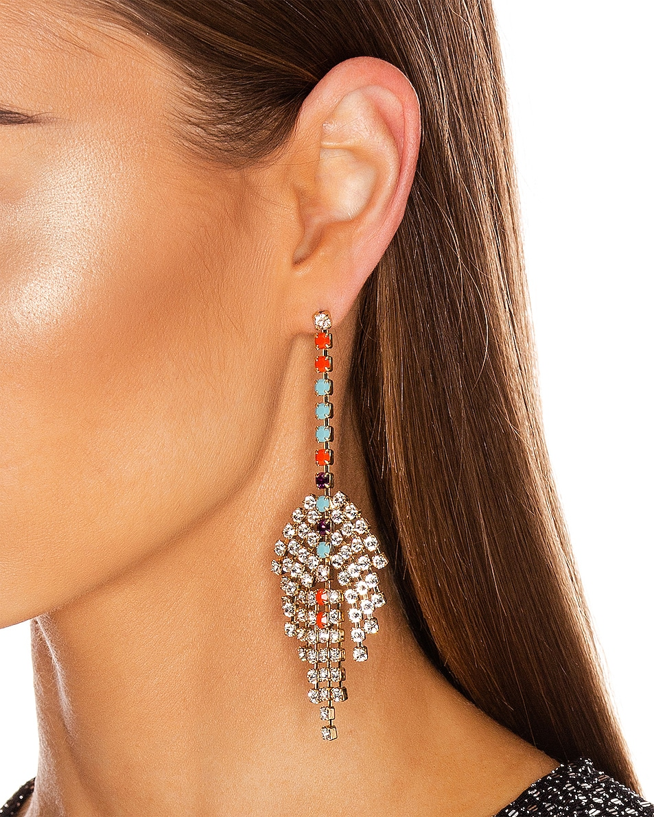Image 2 of Isabel Marant Aless Earrings in Multicolor