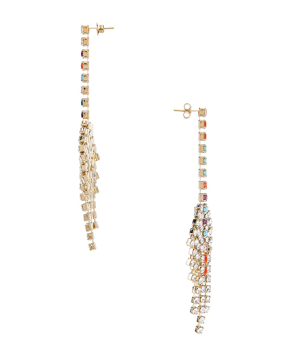 Image 3 of Isabel Marant Aless Earrings in Multicolor