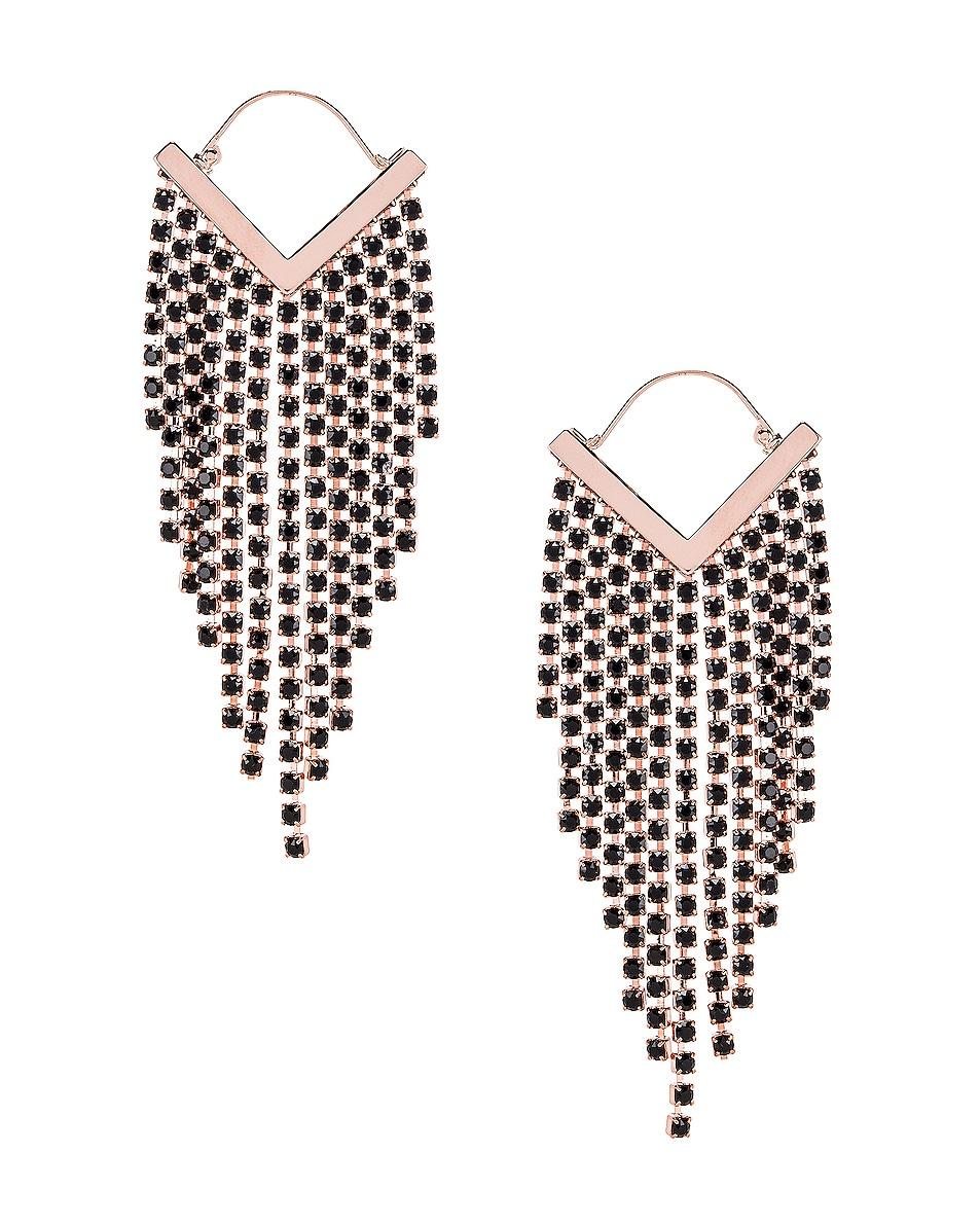 Image 1 of Isabel Marant Freak O Earrings in Black