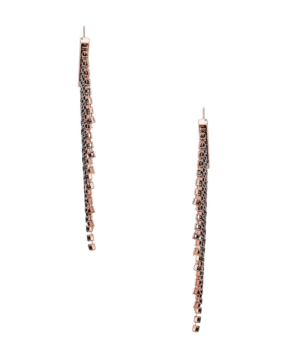 Image 2 of Isabel Marant Freak O Earrings in Black
