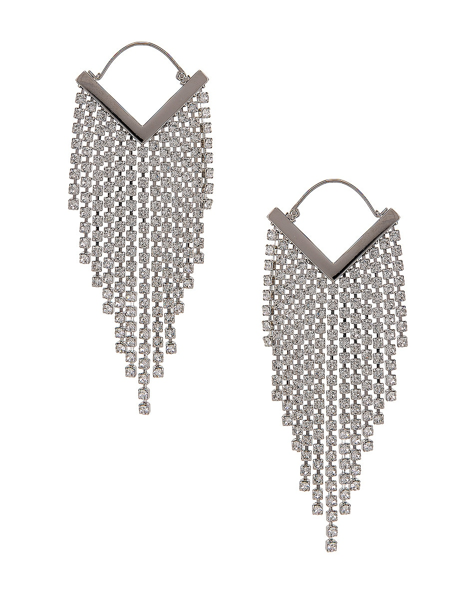 Image 1 of Isabel Marant Freak O Earrings in Transparent