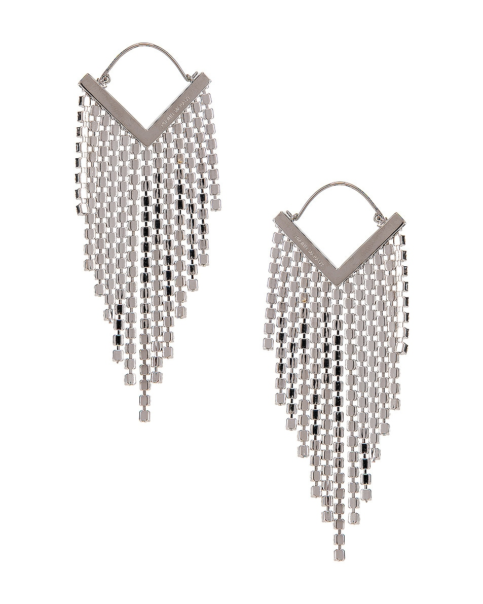Image 4 of Isabel Marant Freak O Earrings in Transparent