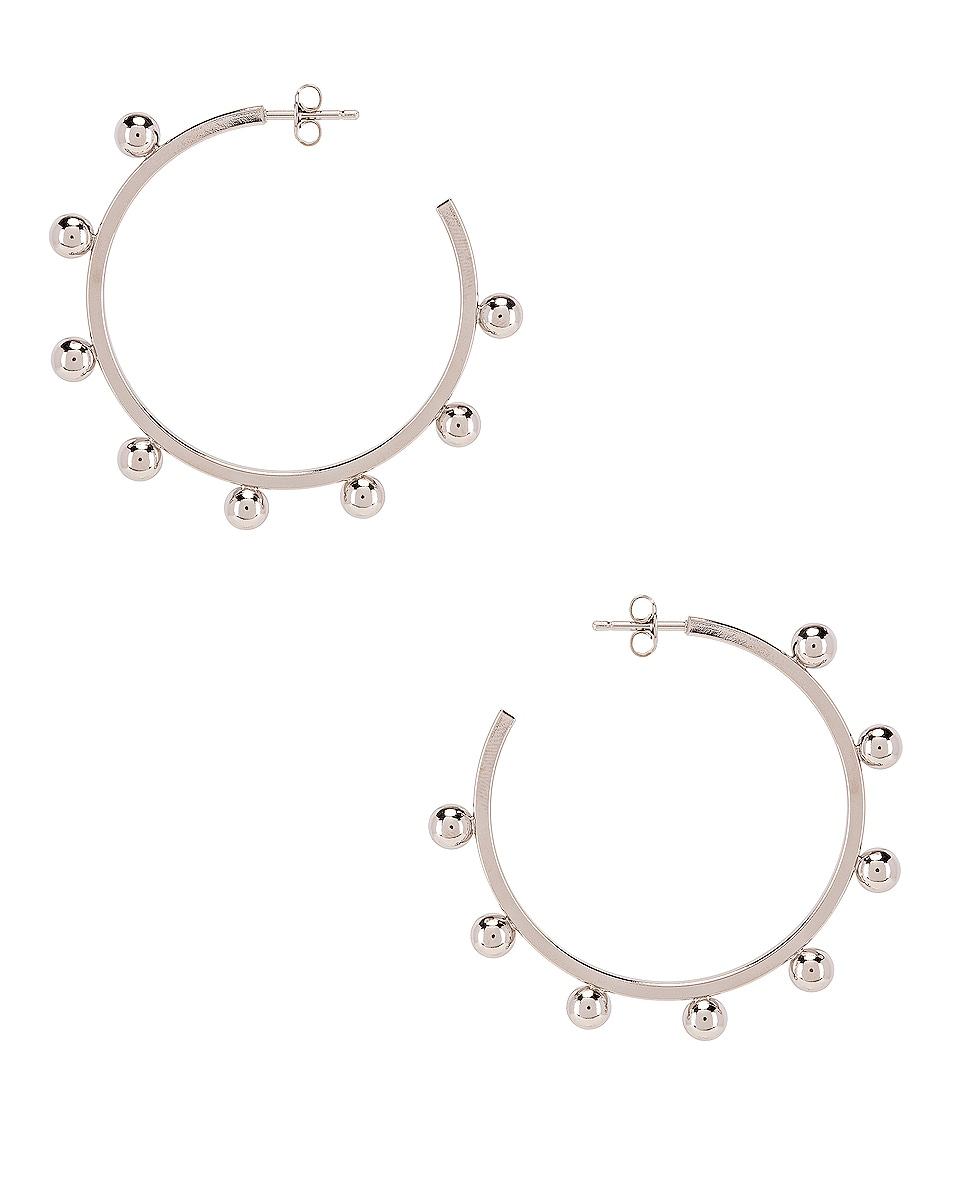 Image 1 of Isabel Marant Oh Earrings in Silver