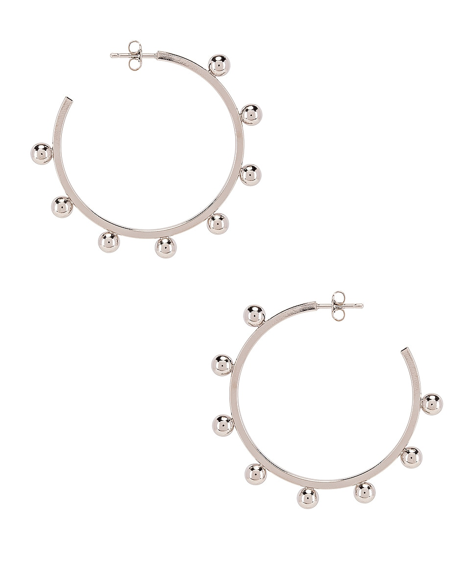 Image 4 of Isabel Marant Oh Earrings in Silver