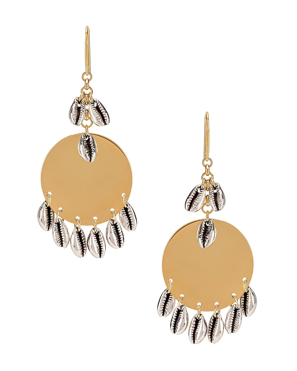 Image 1 of Isabel Marant Amer Earrings in Silver