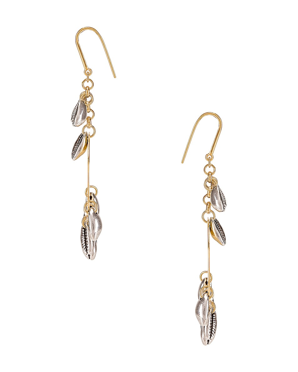 Image 3 of Isabel Marant Amer Earrings in Silver
