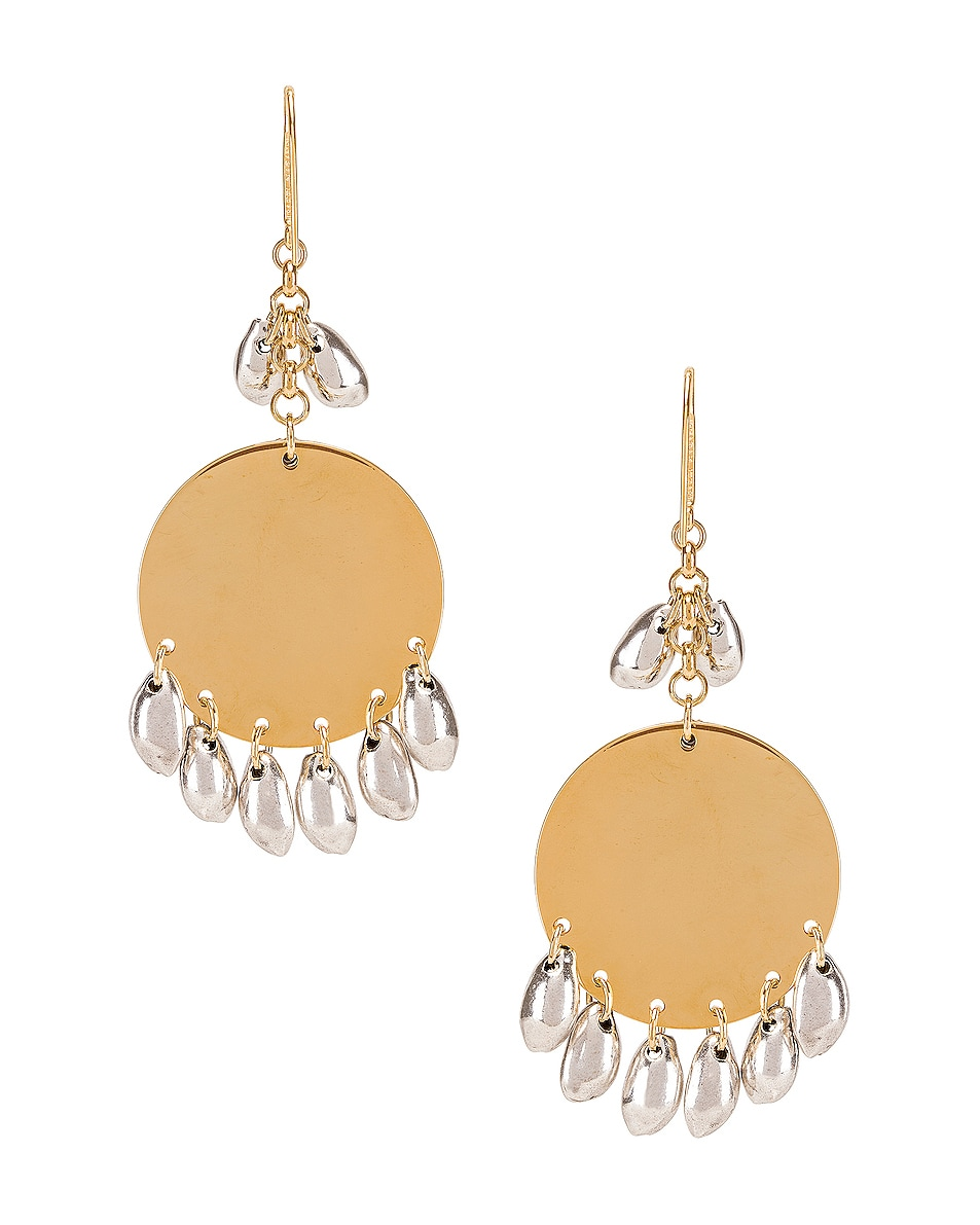 Image 4 of Isabel Marant Amer Earrings in Silver