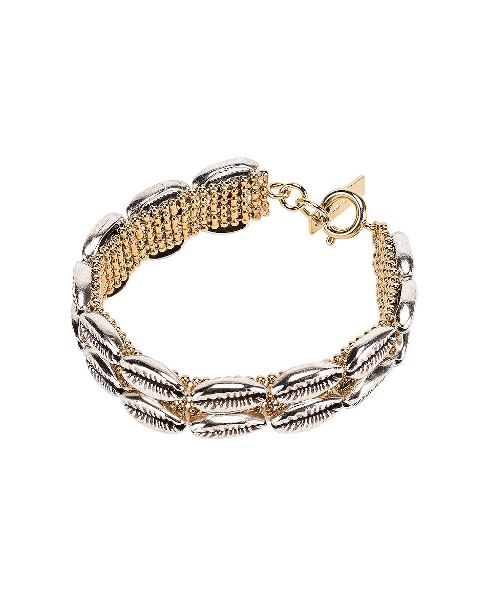 Image 1 of Isabel Marant Shell Bracelet in Silver