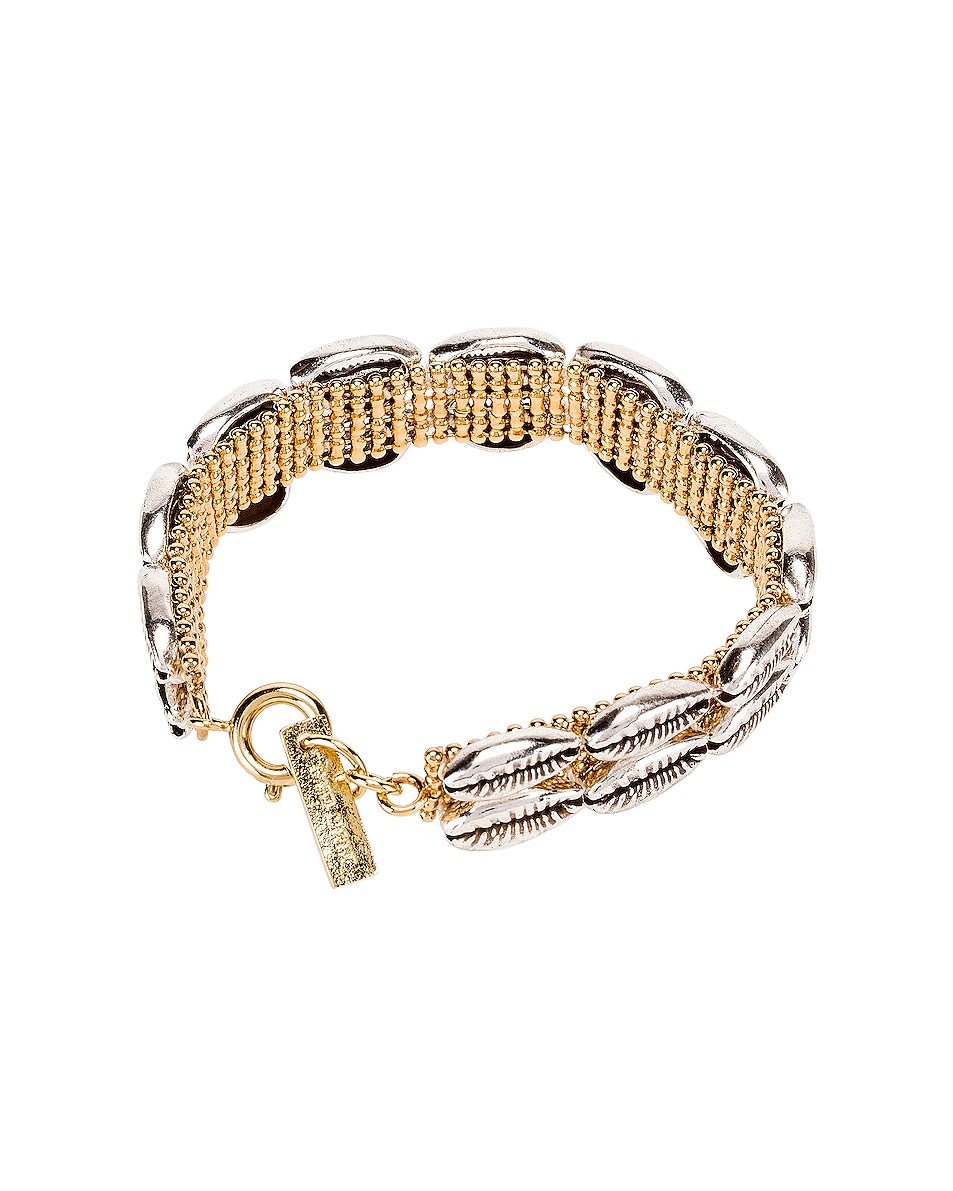 Image 2 of Isabel Marant Shell Bracelet in Silver
