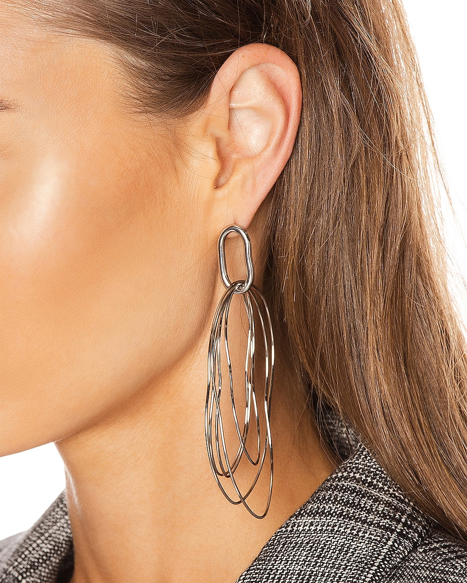 Image 2 of Isabel Marant Planet Earrings in Silver