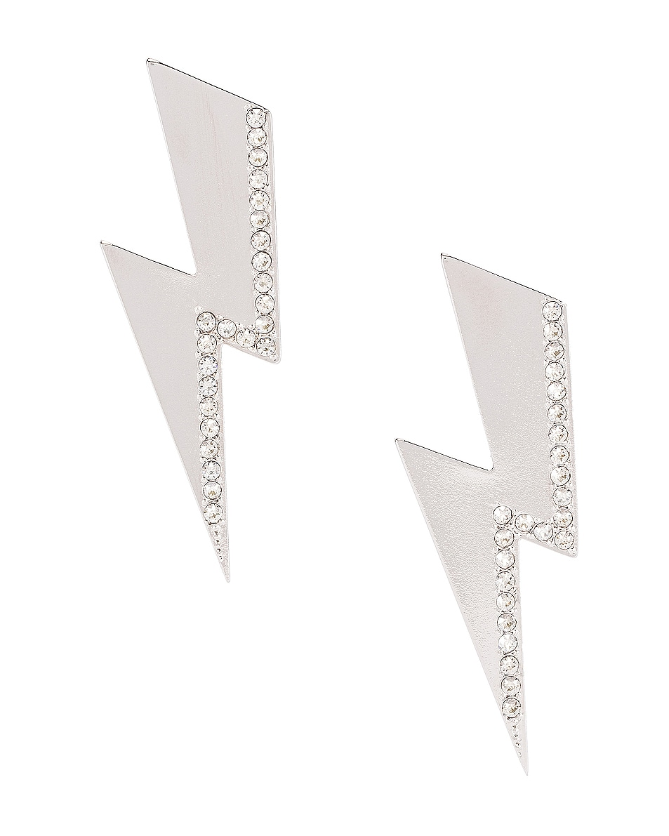 Image 1 of Isabel Marant Flash Earrings in Transparent
