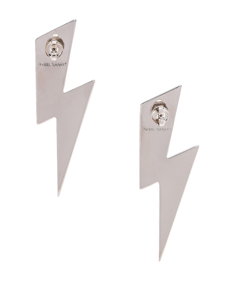 Image 4 of Isabel Marant Flash Earrings in Transparent