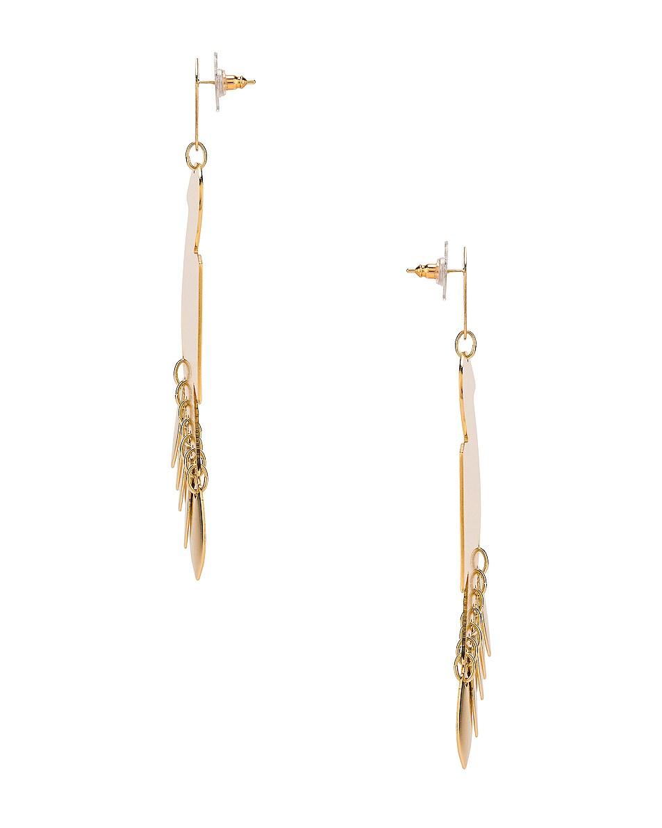 Image 2 of Isabel Marant Bird Earrings in Dore