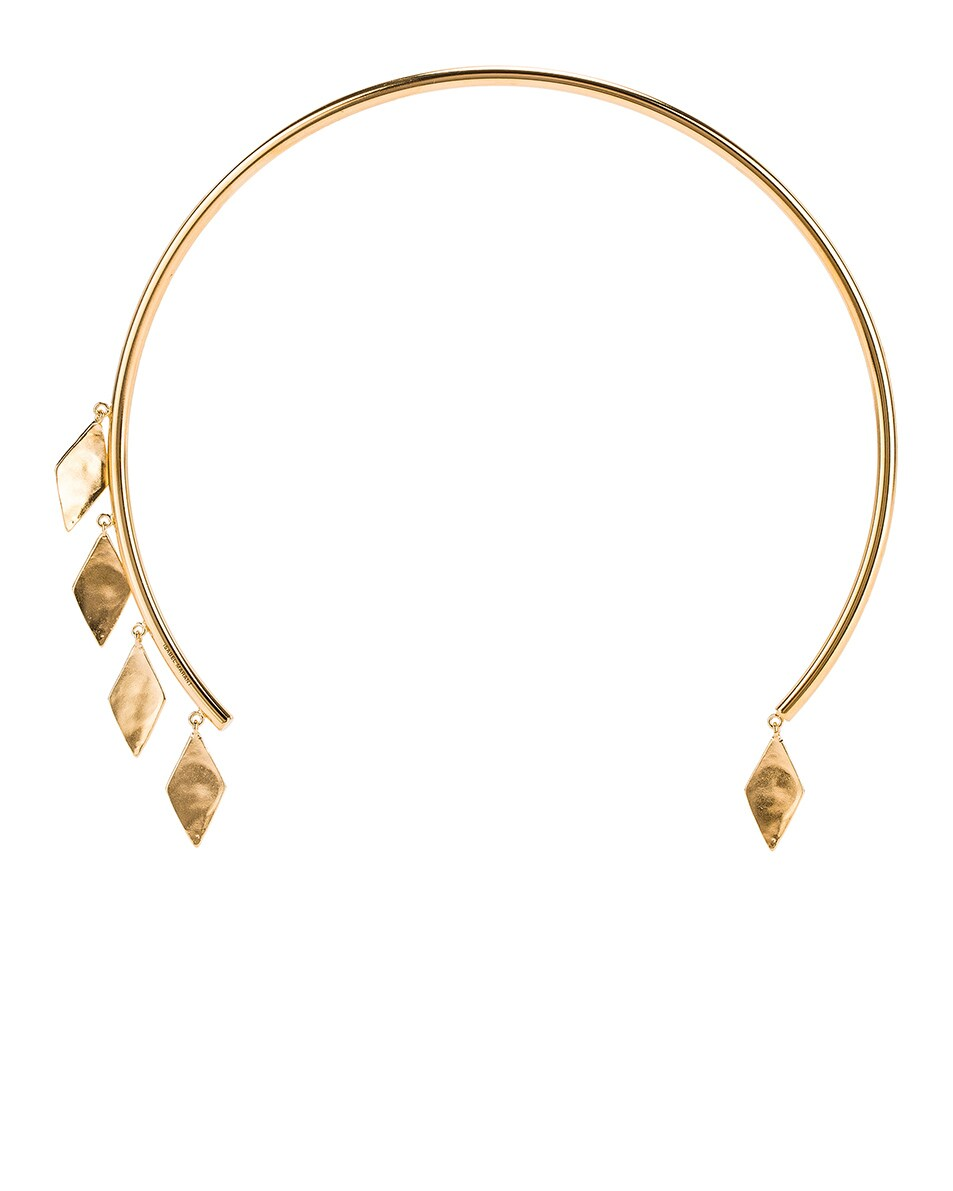 Image 1 of Isabel Marant Geometric Dangle Choker in Dore