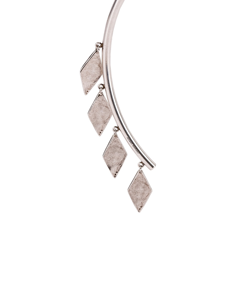 Image 3 of Isabel Marant Geometric Dangle Choker in Silver