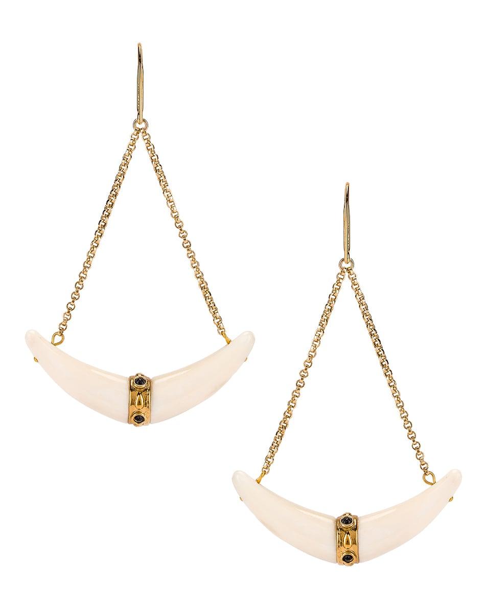 Image 4 of Isabel Marant Swing Earrings in Ecru
