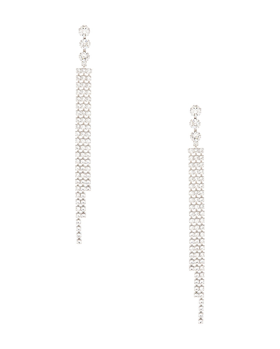 Image 1 of Isabel Marant New Nile Drop Earrings in Transparent