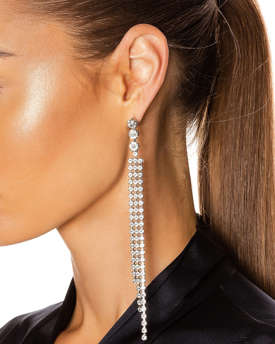 Image 2 of Isabel Marant New Nile Drop Earrings in Transparent