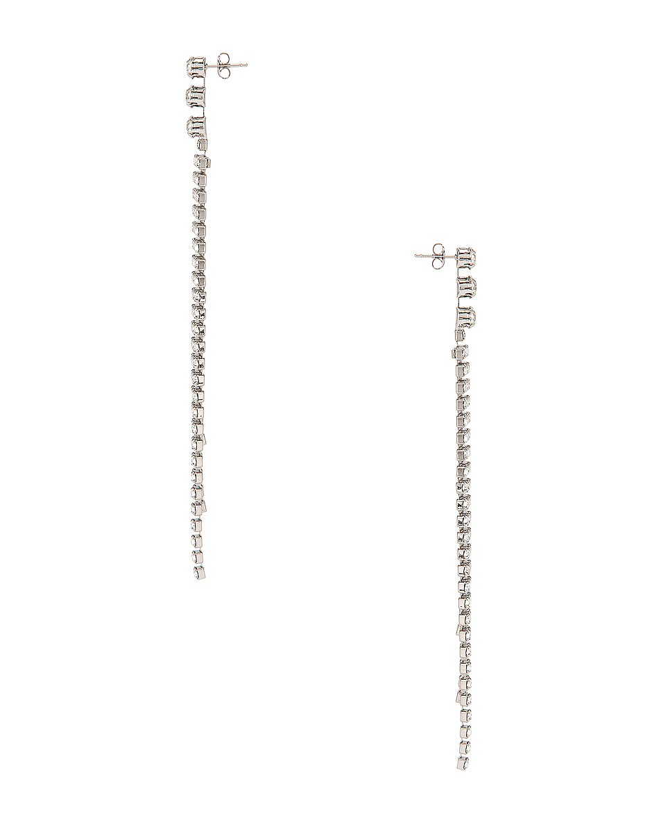 Image 3 of Isabel Marant New Nile Drop Earrings in Transparent