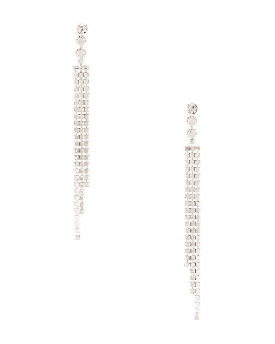 Image 4 of Isabel Marant New Nile Drop Earrings in Transparent