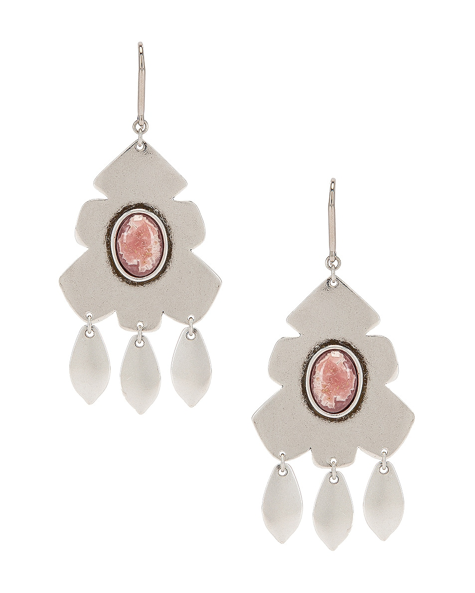 Image 1 of Isabel Marant Adama Earrings in Pink