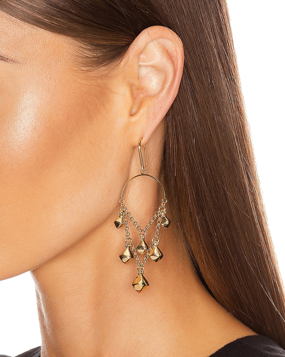 Image 2 of Isabel Marant Tanganyika Chandelier Earrings in Dore