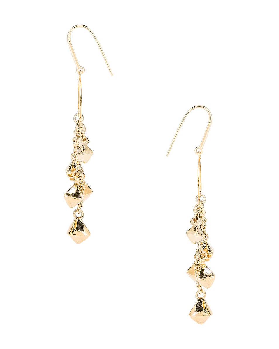 Image 3 of Isabel Marant Tanganyika Chandelier Earrings in Dore