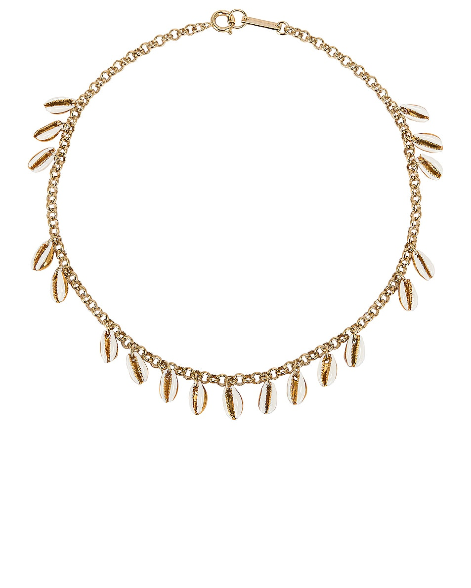 Image 1 of Isabel Marant New Amer Necklace in Ecru