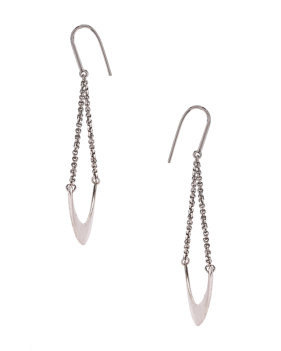 Image 3 of Isabel Marant Mzuzu Earrings in Blue & Silver