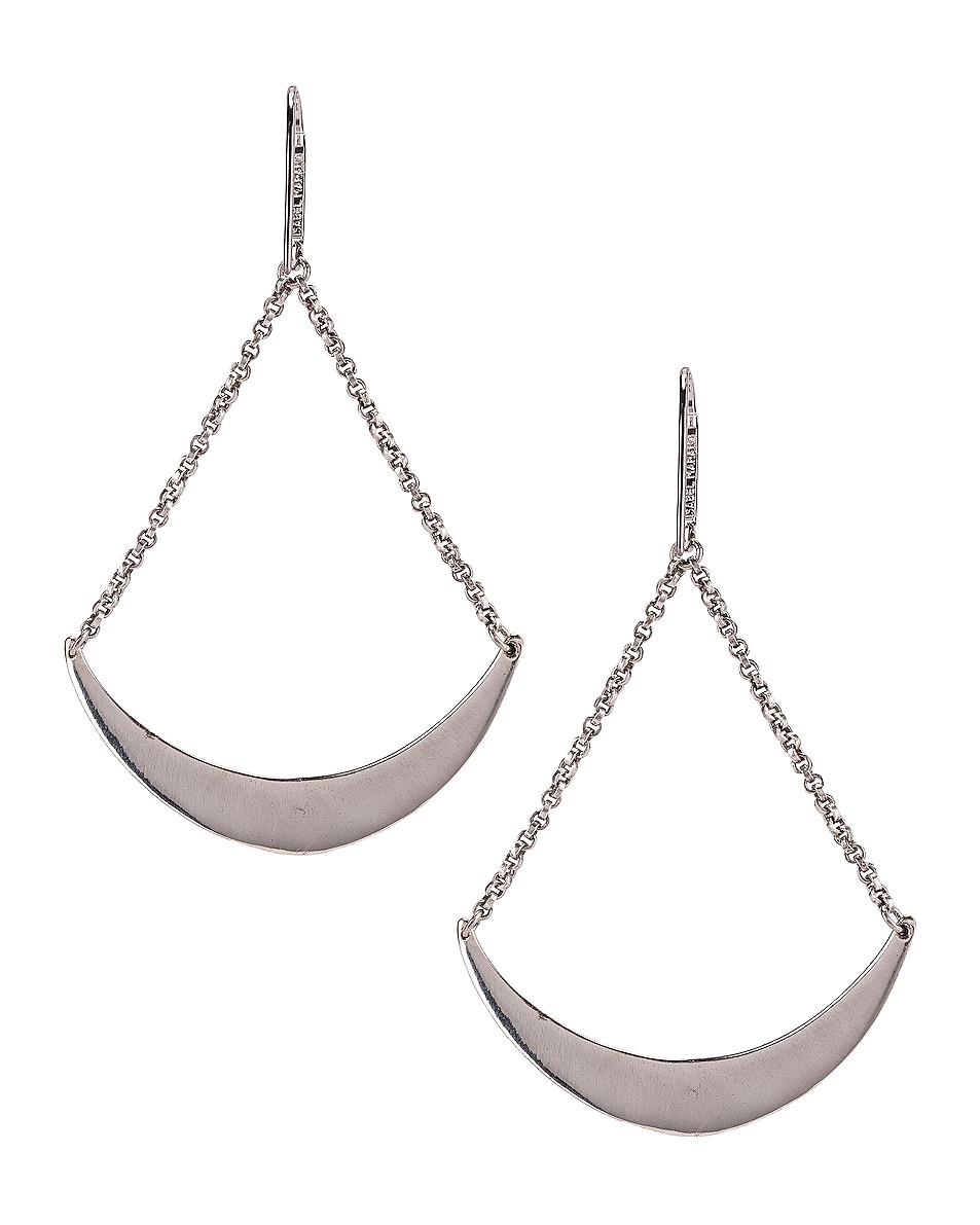 Image 4 of Isabel Marant Mzuzu Earrings in Blue & Silver