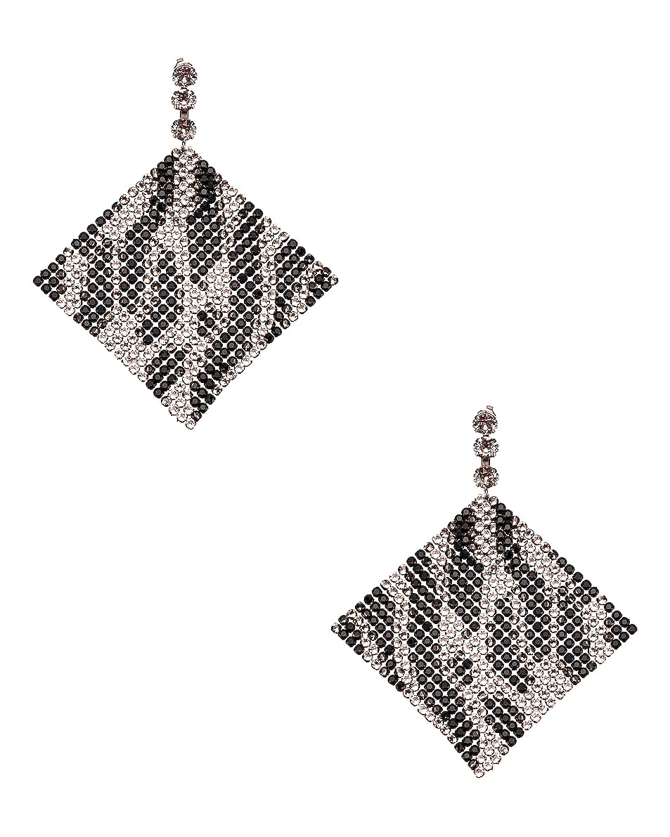 Image 1 of Isabel Marant New Nile Sheet Earrings in Transparent