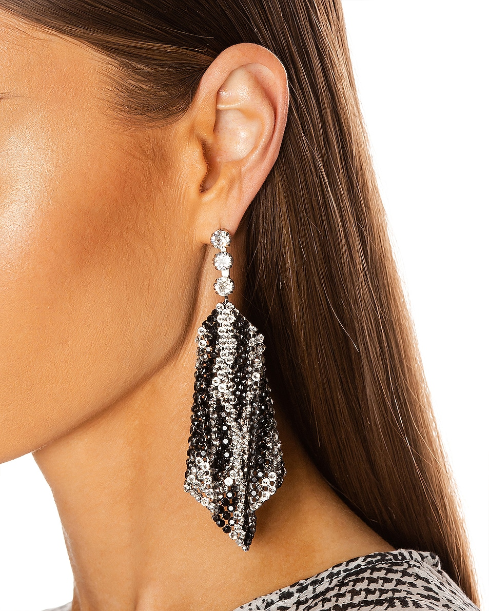 Image 2 of Isabel Marant New Nile Sheet Earrings in Transparent