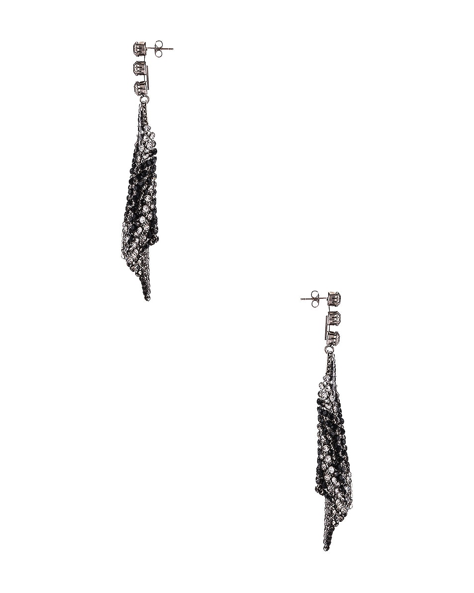 Image 3 of Isabel Marant New Nile Sheet Earrings in Transparent