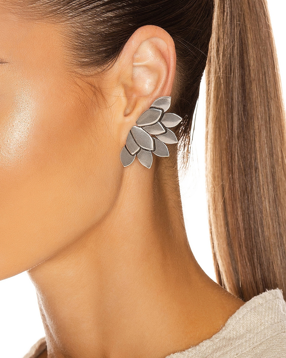 Image 2 of Isabel Marant Boucle Oreille Earrings in Silver