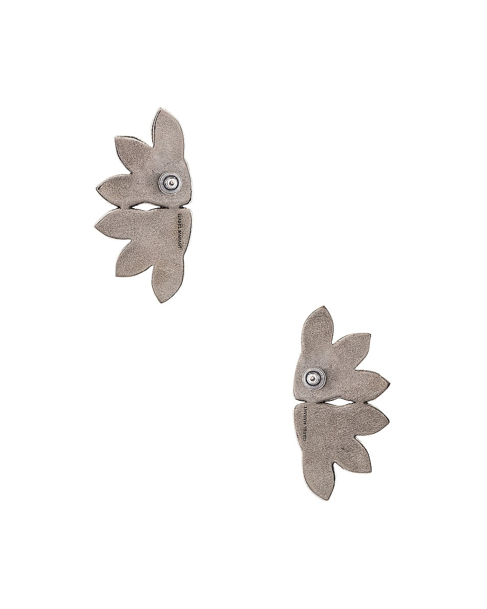Image 4 of Isabel Marant Boucle Oreille Earrings in Silver