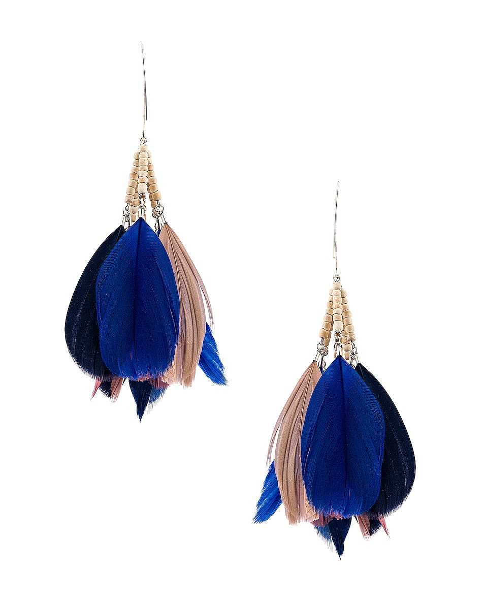 Image 1 of Isabel Marant Boucle Oreille Earrings in Rosewood