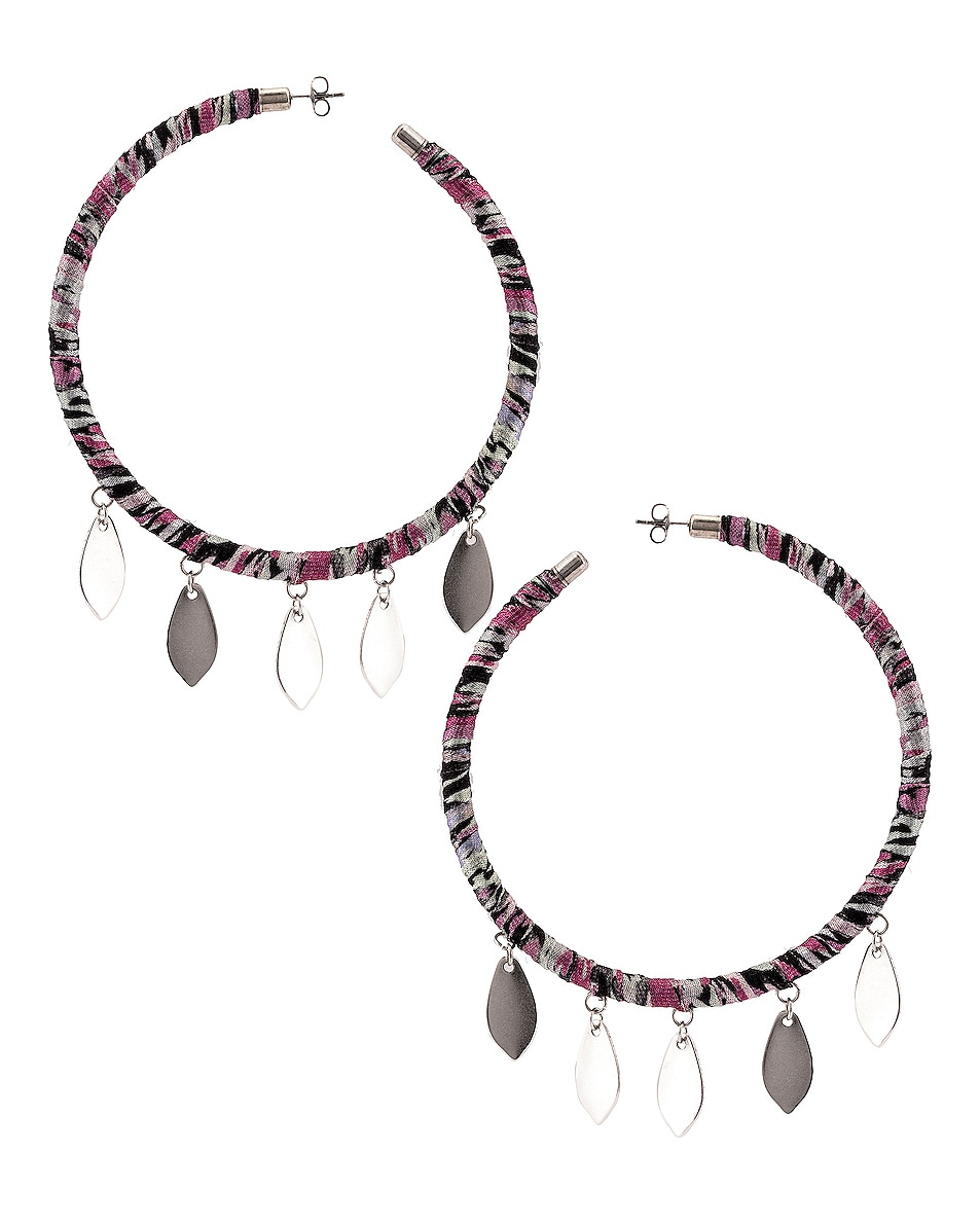 Image 1 of Isabel Marant Boucle Oreille Earrings in Faded Night