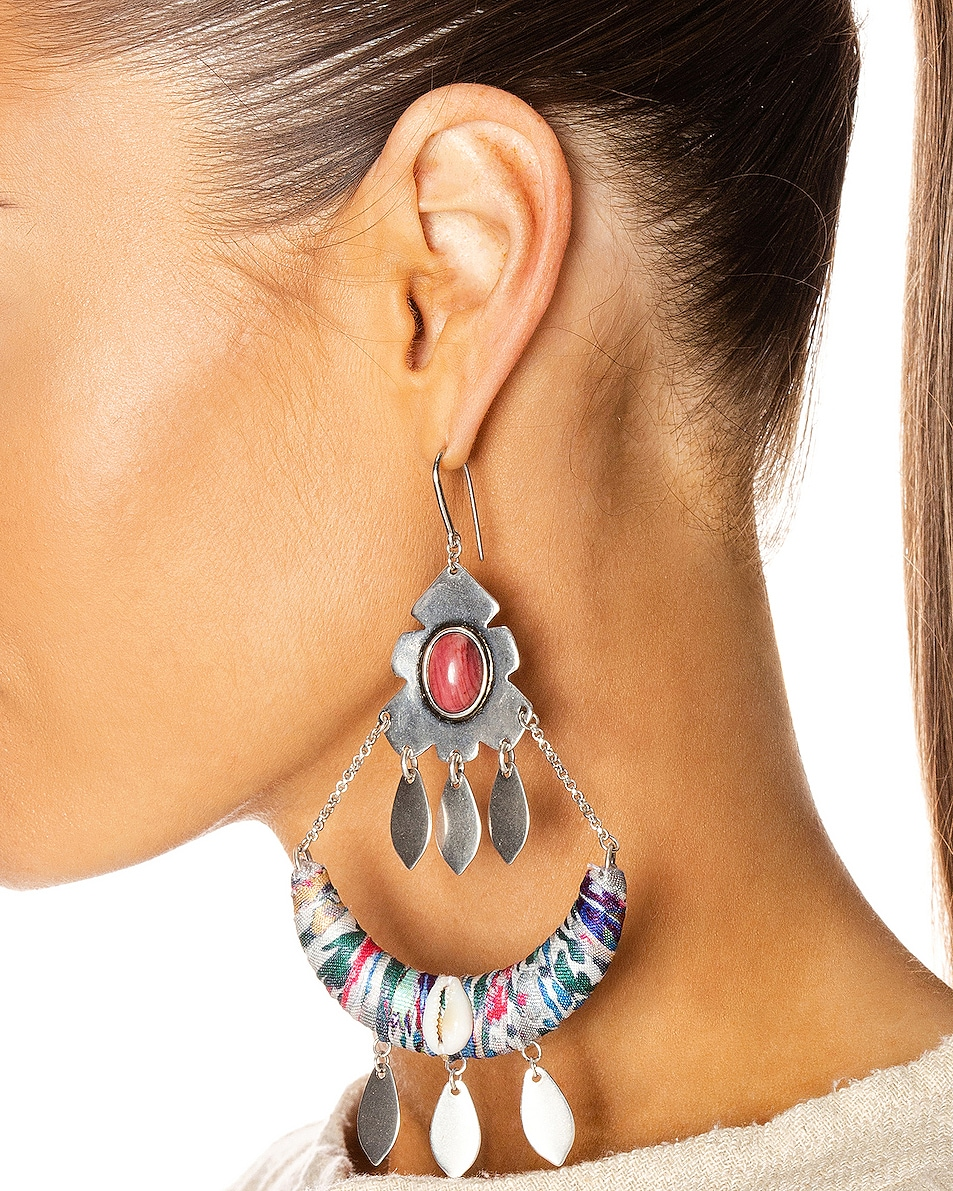 Image 2 of Isabel Marant Boucle Oreille Earrings in Blue