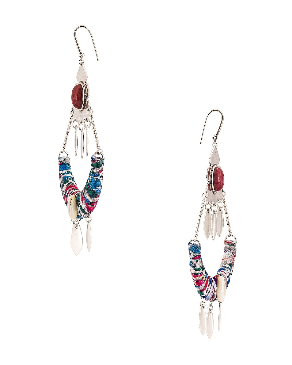Image 3 of Isabel Marant Boucle Oreille Earrings in Blue