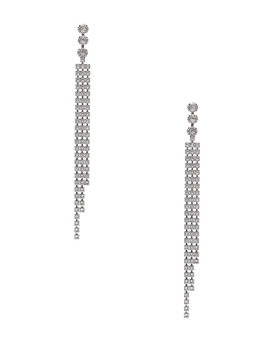 Image 1 of Isabel Marant Drop Earrings in Transparent
